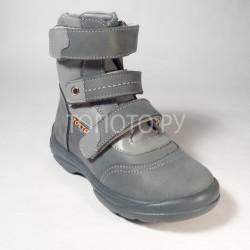 Ботинки зимние Тотто 210 серые