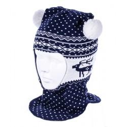 Шлем зимний Чудо-Кроха Cb-19 синий