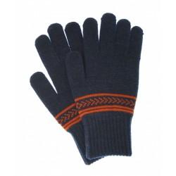 Перчатки одинарные Чудо-Кроха GK-13 темно-синие