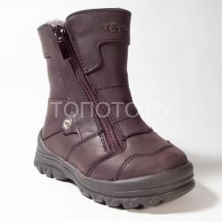 Сапоги зимние Тотто 243 коричневые