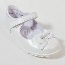 Детские туфли Тотто 10204 белые