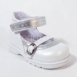 Туфли Тотто 072 белые