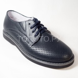 Туфли школьные Тотто 3442 синие