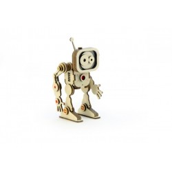 3D Конструктор деревянный Робот Флеш LEMMO