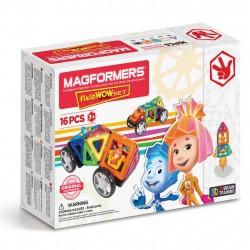 Магнитный конструктор Fixie Wow set Magformers
