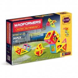 Магнитный конструктор Tiny Friends 20 Magformers