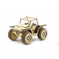 3D Конструктор деревянный Внедорожник Багги LEMMO