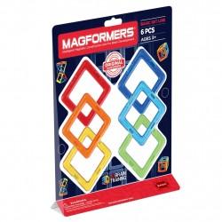 Магнитный конструктор Квадраты 6 Magformers