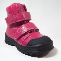 Ботинки демисезонные Тотто 3381 красные