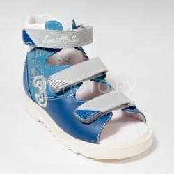Сандалии ортопедические Сурсил Орто 15-252 голубые