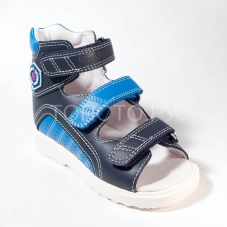 f6919ff55 Купить антиварусные сандалии для мальчика Сурсил Орто 15-001