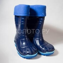 Резиновые сапоги Дюна 230 синие
