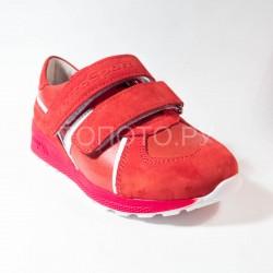 Полуботинки Тотто 2431 красные