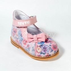 Туфли на первый шаг Тотто 3711 розовые