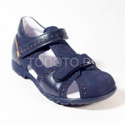 Сандалии профилактические Тотто 1133 синие