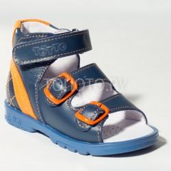 Сандалии профилактические Тотто 024 синие