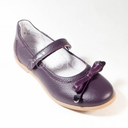 Туфли школьные Тотто 30001 баклажан