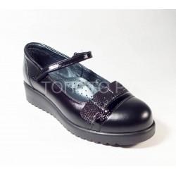 Туфли школьные Шаговита 63214 черный