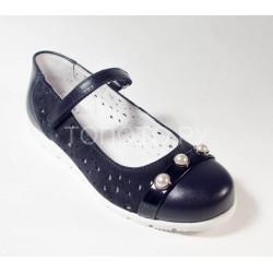 Туфли школьные Шаговита 63230 синий
