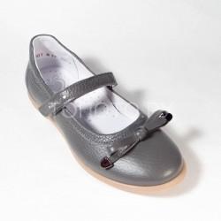 Туфли школьные Тотто 30001/2 серые