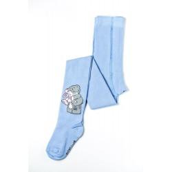 Колготки детские Мишка Тедди голубые