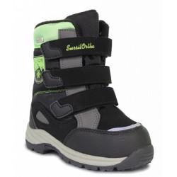 Ботинки зимние мембранные Сурсил Орто A45-147 черные