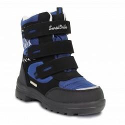 Ботинки зимние мембранные Сурсил Орто A45-148 синие