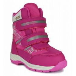 Ботинки зимние мембранные Сурсил Орто A45-109 розовые