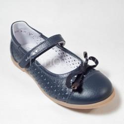 Туфли школьные Тотто 30001 синие