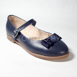 Туфли школьные Tapiboo 25015 синие