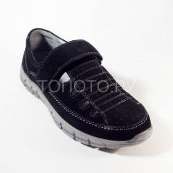 Туфли школьные Сурсил Орто 55-300 черные