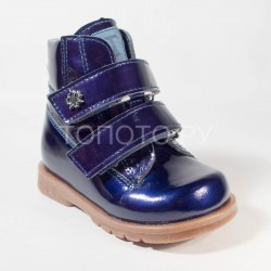Ботинки демисезонные Тотто 126 синий лак