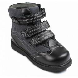 Ботинки антиварусные демисезонные Сурсил Орто 23-208 черные