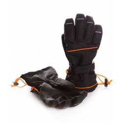 Перчатки зимние Чудо-Кроха G-16 черный
