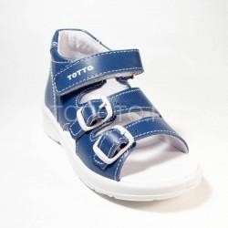 Сандалии профилактические Тотто 1142 синие