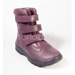 Ботинки зимние Тотто 312 фиолетовые