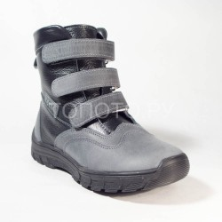 Ботинки зимние Тотто 312 черные