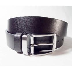 Ремень мужской Maroon Belts. 3,7, черный