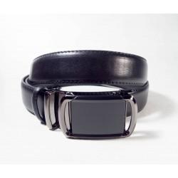 Ремень Maroon Belts. Цвет-черный. Автопряжка. 3,5