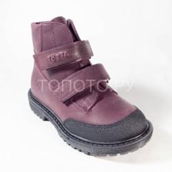 Ботинки демисезонные Тотто 1126 фиолетовые