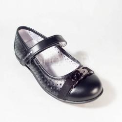 Туфли школьные Тотто 30029 черные