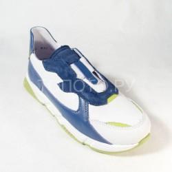 Полуботинки Тотто 2459/1 белый с синим