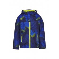 Куртка-ветровка Oldos Пэт темно синий/васильковый
