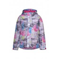 Куртка-ветровка Oldos Соня светло-серая
