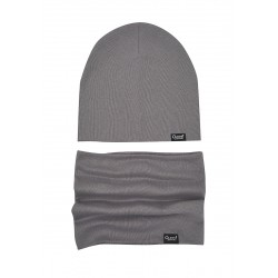 """Комплект (шапка,снуд) Oldos """"Коли"""" серый"""
