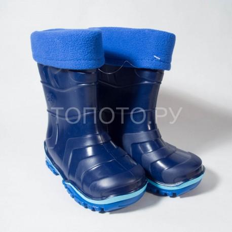 Резиновые сапоги Дюна 220/03 синий