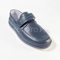 Туфли школьные Тотто 30025 синие