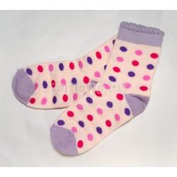 Носки детские сиренево-розовые