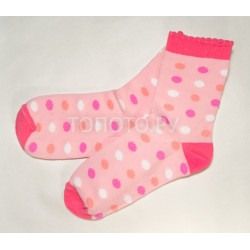 Носки детские розовые