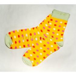 Носки детские ярко-желтые